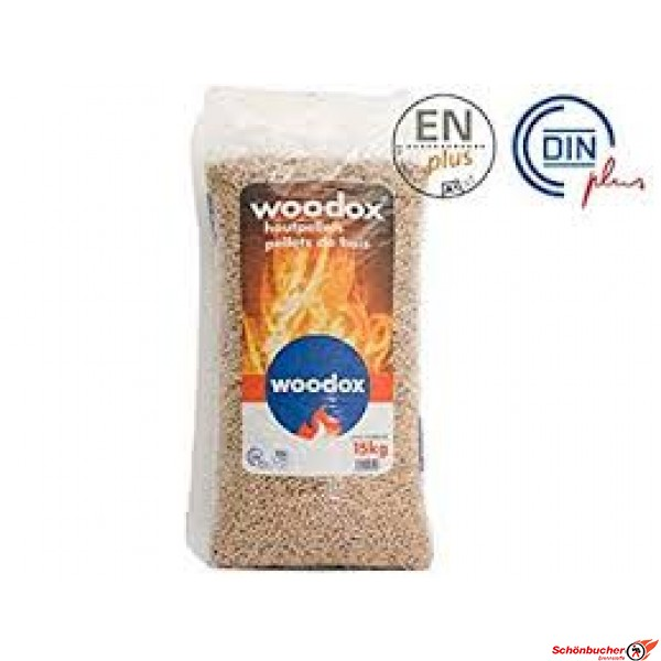 Holzpellets Woodox 15kg Sack